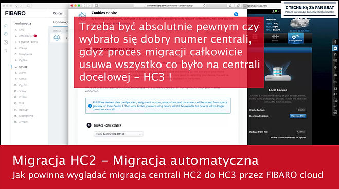 Migracja Z HC2 do HC3
