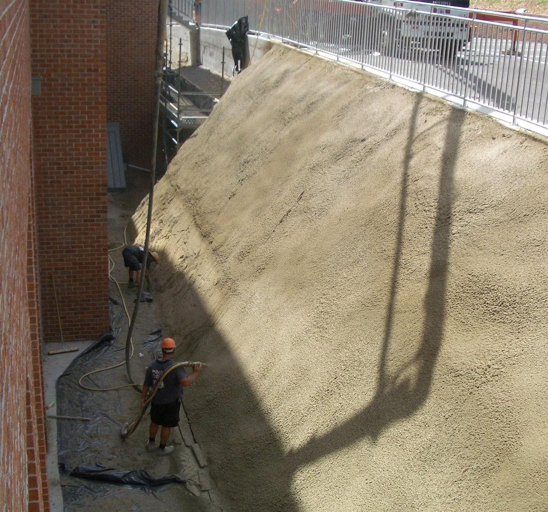 Mitchcon, Concrete Pumping, Spraying, Basements, Melbourne
