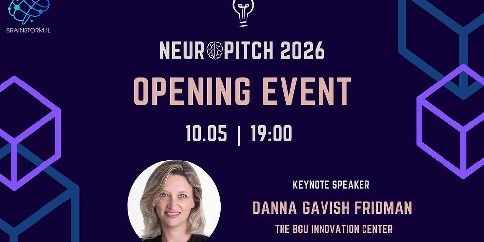 Neuropitch 2026 Opening Event