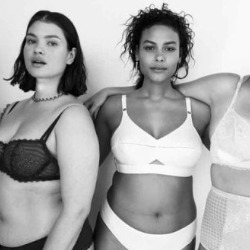 Vogue responds to 'plus size' backlash with lingerie 'for all shapes and sizes 'shoo