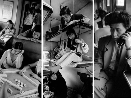 Unique window of China's reform : 4 decades of train rides