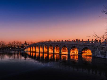 Beijing's magical twilight at winter solstice...