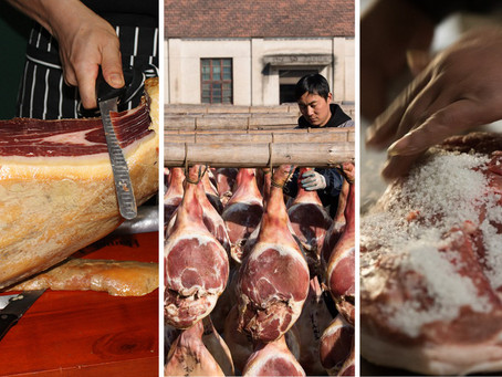 Ancient cured ham culture in China