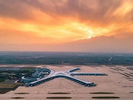New Qingdao International Airport opened last month