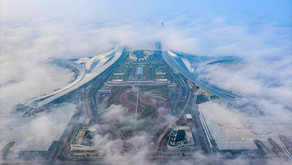 China's newest mega aviation hub out in the West