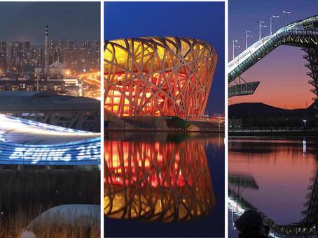 Beijing Winter Olympics in less than a year...