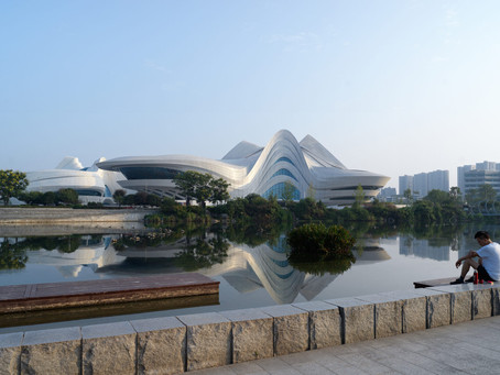 Green and sustainable urban planning with exciting architecture...