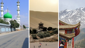 2,700 mosques and 280 buddhist monasteries...