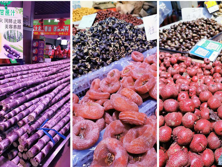 Winter foods and nutrition in China...
