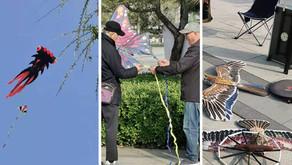 Kite flying season in Beijing !