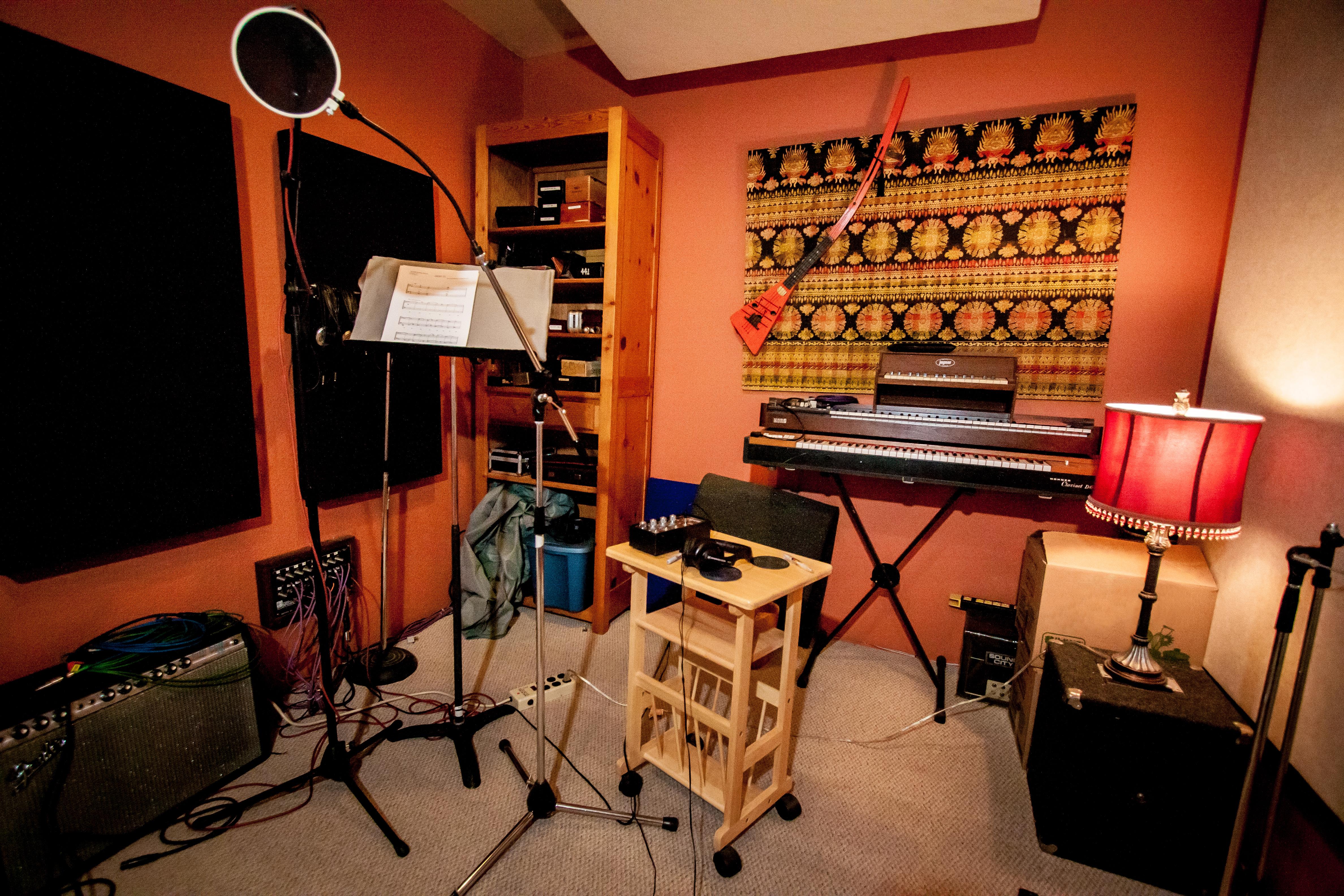 Studio A Isolation Room