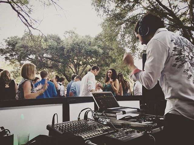 Finally getting back into Djing this weekend with a wonderful wedding out just past Santa Barbara