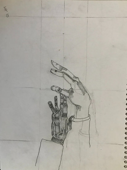 Two Hands - Lester Bruce Hunt