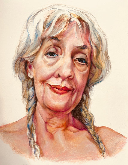 Nude Self-Portrait - Judy Cain