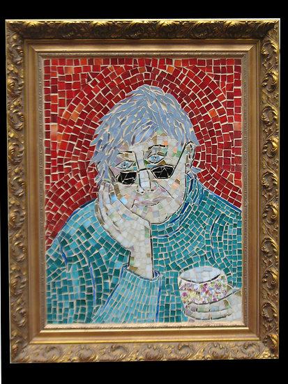 Artist with coffee - Linda Zidonik
