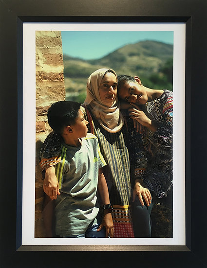 Portrait of a Family in Granada, Spain - Barbara Berrios