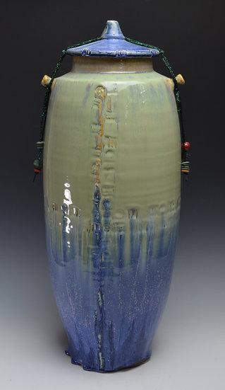 Tall Shrine Jar - Kate Shakeshaft Murray