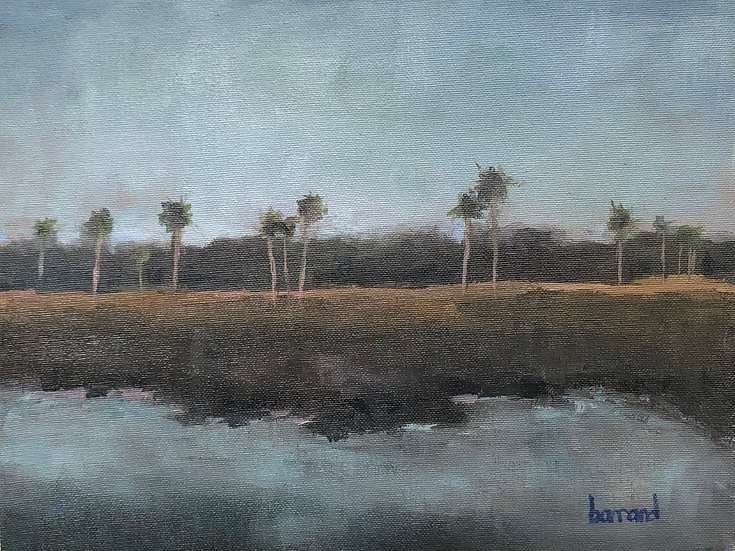 Marsh View - Harold Barrand