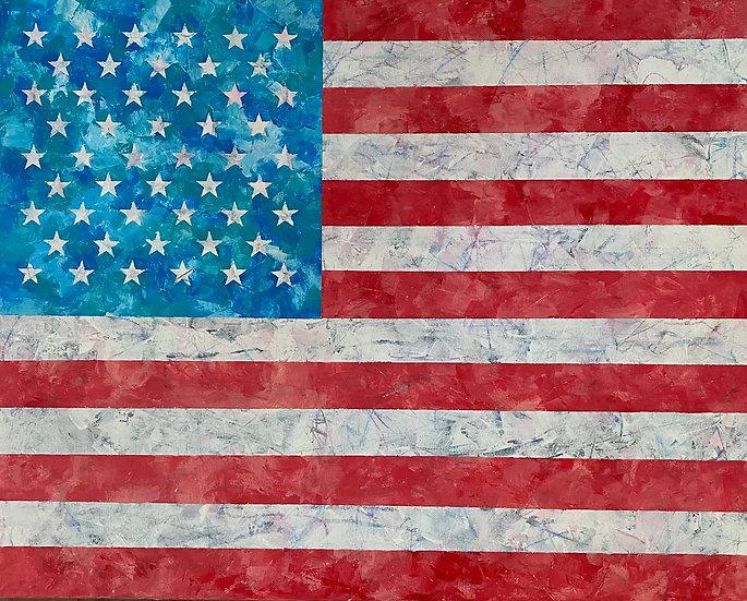 American Flag #4 - Cynthia Cesare