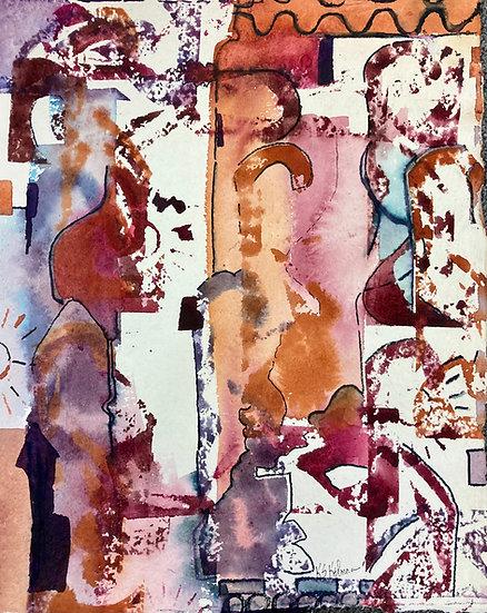 Marks in Isolation I - Sue Kelman