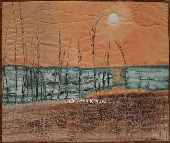 Sunrise over Anastasia - Linda Krause