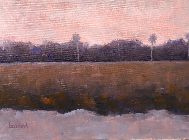 Marsh Sunset - Harold Barrand