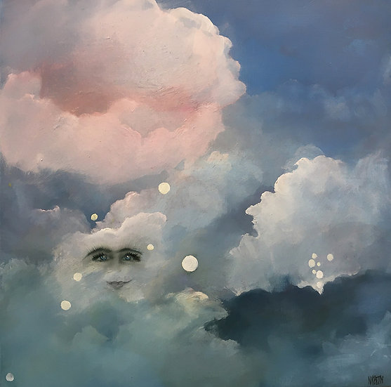 A Face in the Cloud - Nancy K. Betty