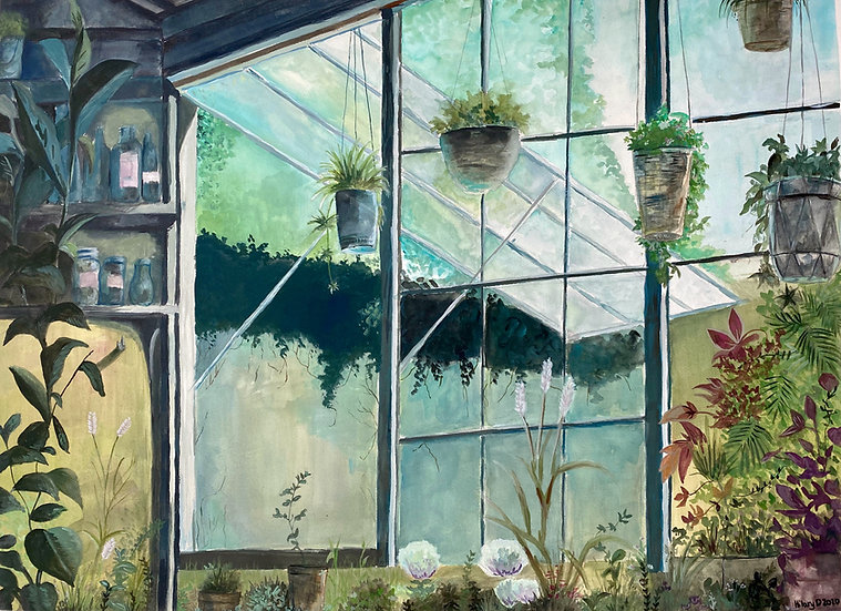 Greenhouse - Hilary Droke