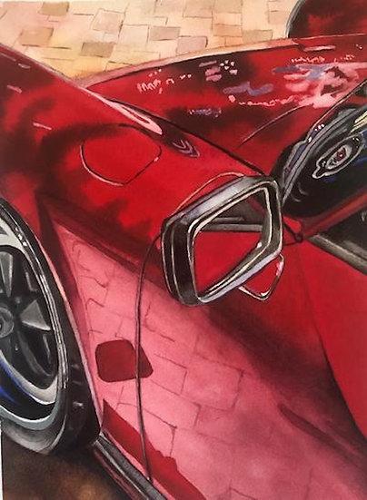 Old But Fashioned (1989 Porsche Carera) - Lori Pitten Jenkins