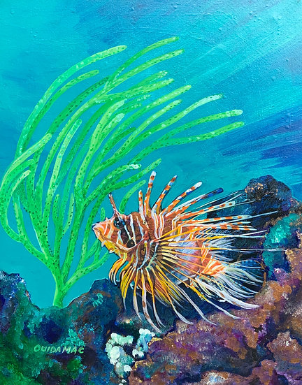 Lion Fish - Ouida McIlhinney