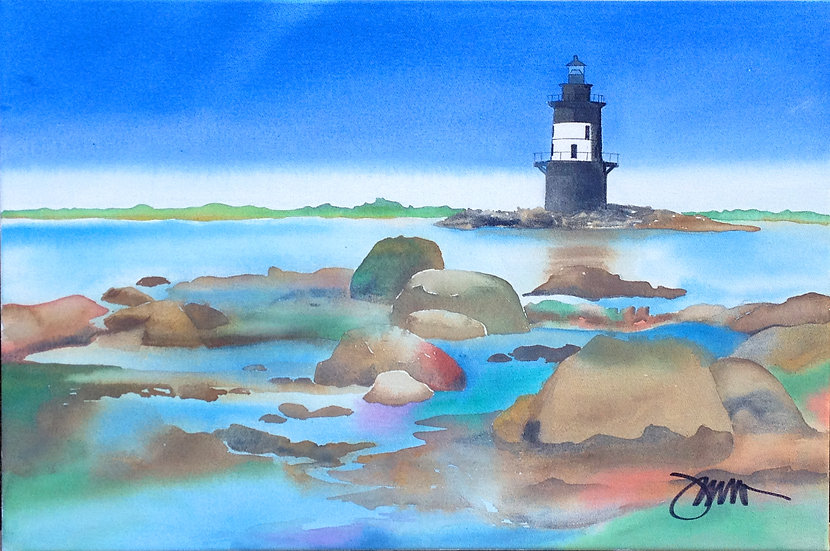 Orient Point Rocks -Michael Frommer