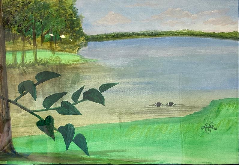 "Lake Pithlachoco (series) Branch - Anthony F. ""AGee"" Greene"