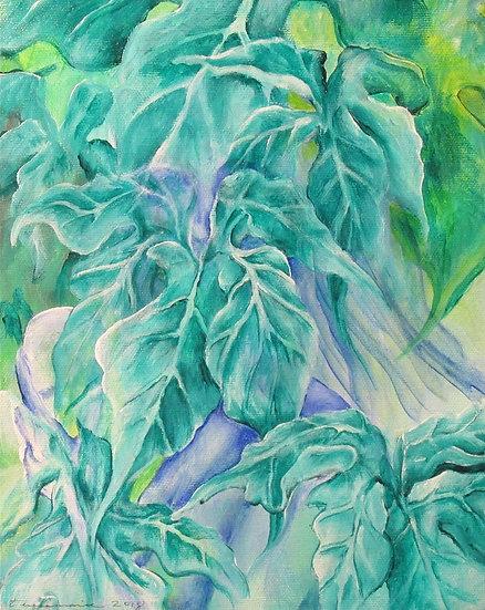 Peering Leaves - Teresamarie Yawn