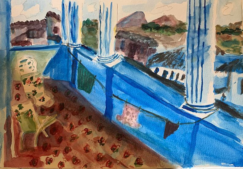 Blue Baracoa - Krin Cosner