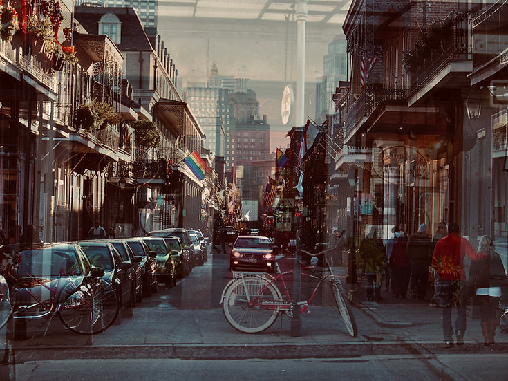 Wanderlust I (New Orleans) - Maria Leite