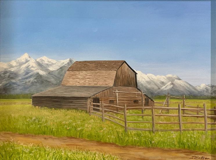 Teton Barn - Joyce Hinkle