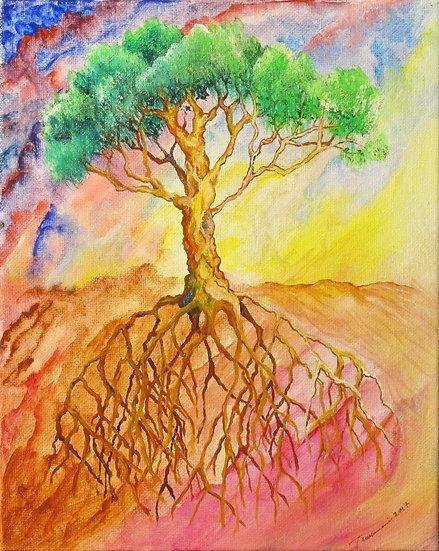 Glowing Tree - Teresamarie Yawn