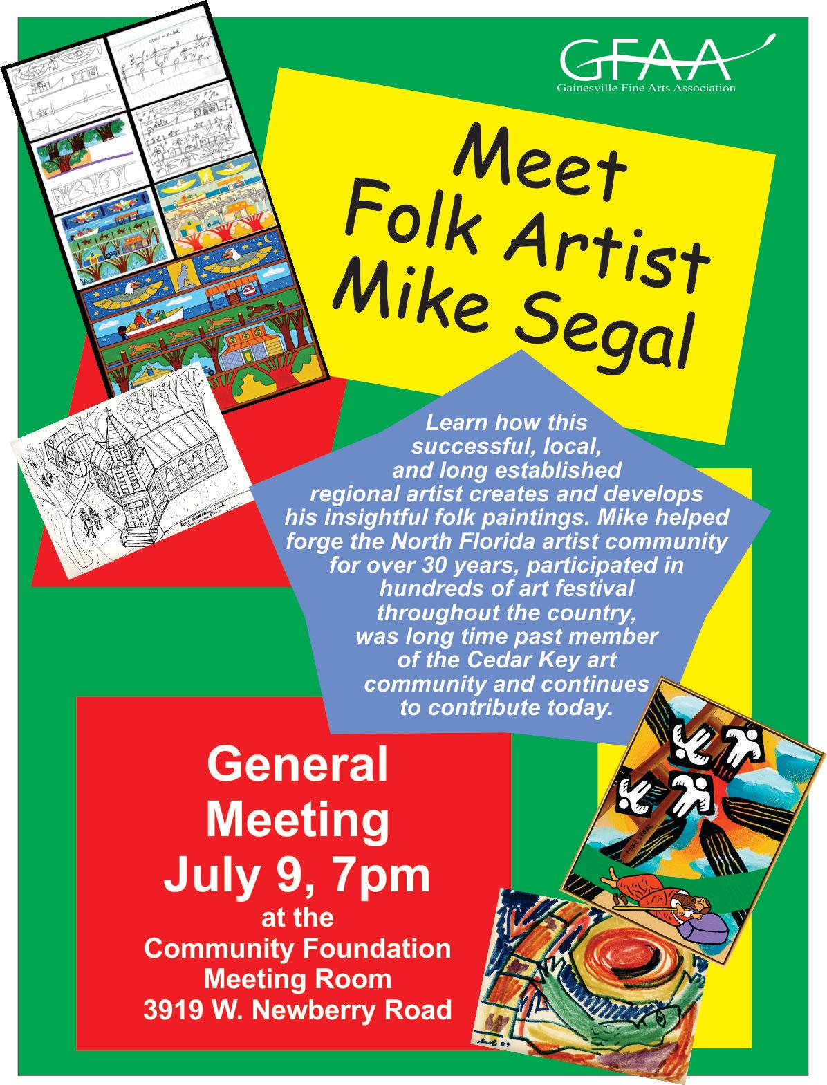 July Meet Mike Segal
