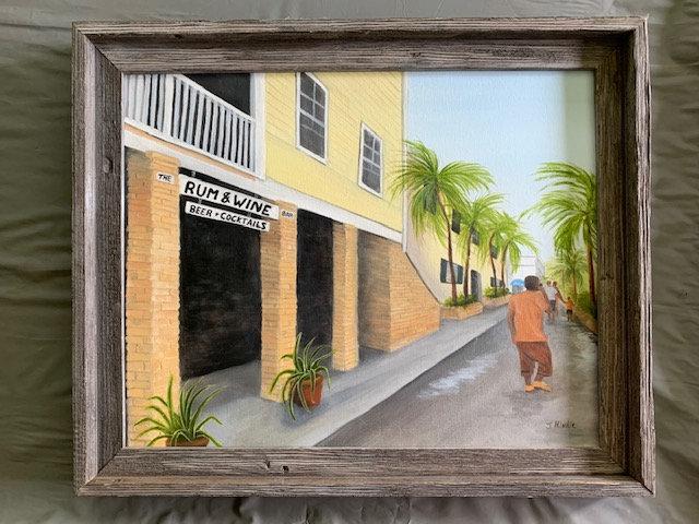 Street Scene St Croix #1 - Joyce Hinkle