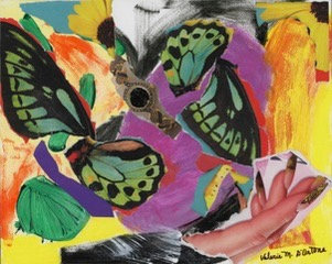 Fluttering in Time - Valerie M. D'Ortona