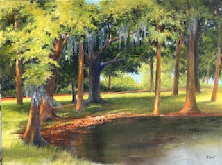 Trinity's Pond - Peggy Mixon