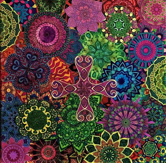 Mandala Collage II - Mary Bast
