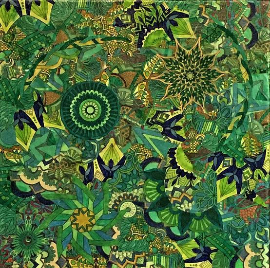 Mandala Collage I - Mary Bast