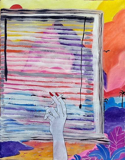 Window Pain - Renee Giannoblie
