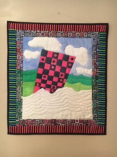 Checkered Landscape - Joyce Dewsbury