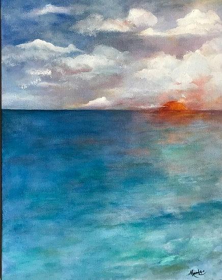 Sunset at the Keys - Mandy Macias