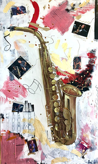 The Iconic Saxophone - Tina Corbett