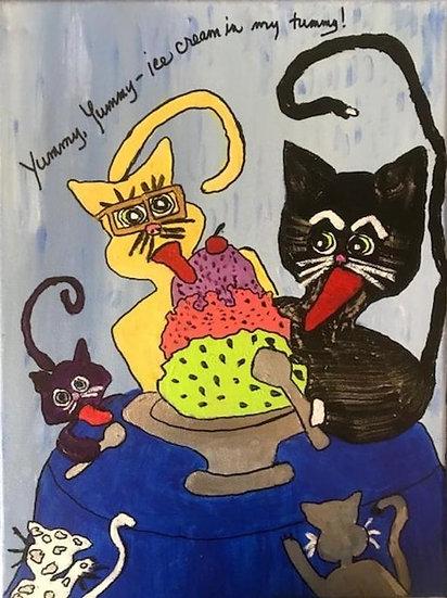 Yummy, Yummy—ice cream in my tummy! - Valerie Dortona