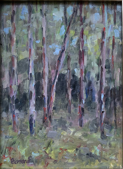 Studio Woods 2 - Harold Barrand SOLD