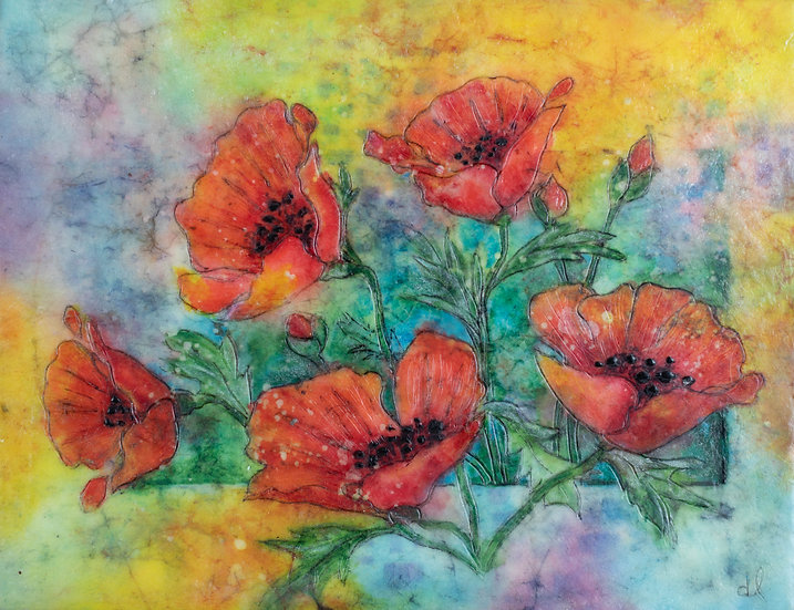 Sunny Poppies - Debra Lindberg